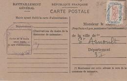 76 - SAINT ARNOULT - Carte D'Alimentation - France