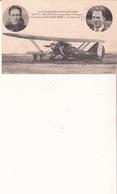 Les Vainqueurs De L'Atlantique-Coste Et Bellonte Et L'avion Point D'Interrogation-1ère Traversée PARIS NEW YORK - Aviateurs