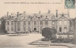 76 - SAINT AUBIN DE CRETOT - Le Château - France