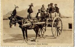 Palerno - Carro Siciliano - Formato Piccolo Viaggiata – At1 - Palermo