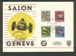 40 ème Salon De L'Automobile à Genève - BMW -  FORD  -  PORSCHE - FDC