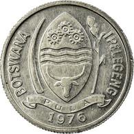 Monnaie, Botswana, Thebe, 1976, British Royal Mint, TTB, Aluminium, KM:3 - Botswana