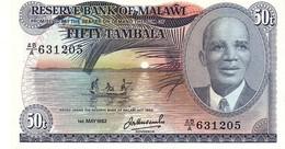 Malawi P.18 50 Tambala 1982   Unc - Malawi