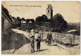 Mont Saint Eloi - Route De Carenoy - Formato Piccolo Viaggiata – At1 - Cartoline