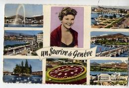 Un Sourire De Genève - Formato Piccolo Viaggiata – At1 - Cartoline