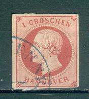 ALLEMAGNE ; HANOVRE ; 1859-63 ; Y&T N° 17 ; Oblitéré - Hanovre