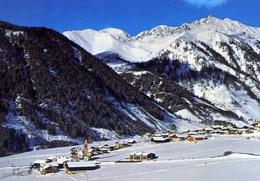 Valles - Con Centro Sciistico Jochatal - Formato Grande Viaggiata – At1 - Cartoline