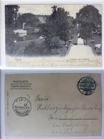 AK Kassel Aue-Partie Mit Drahtbrücke 1904 Gebraucht #PA615 - Deutschland