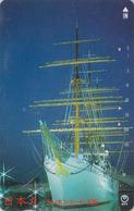 Télécarte Japon / NTT 250-102 - BATEAU Voilier - Sailing SHIP Japan Phonecard - SCHIFF - Boats