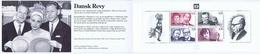 Denmark; 1999;  Famous Danish Comedians.  Booklet MNH (**) - Markenheftchen