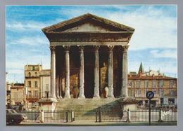 FR.- NIMES. Gard. La Maison Carrée. Temple Romain Construit à L'époque D'Auguste. Editions D'art YVON - Nîmes