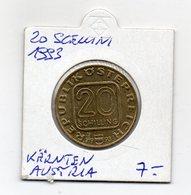 Austria - 1993 - 20 Scellini  - Commemorativo - Vedi Foto - (MW2045) - Austria