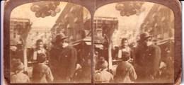STEREOSCOPICA_STEREOSCOPICHE-La Gran Via-Bambini E Palloni-Originale 100% - Cartes Stéréoscopiques