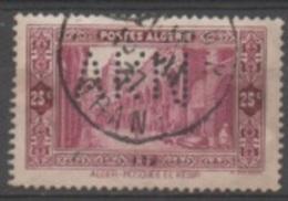 Algérie N°108 Perforé AKN Pour A. KRUGER, NISSOLLE Et Cie (Oran) - Algérie (1924-1962)