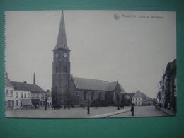 MOUSCRON - Eglise St Barthélemy (peu Courante) - Mouscron - Moeskroen