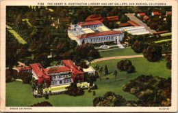 California San Marino Henry E Huntington Library And Art Gallery 1938 - San Bernardino