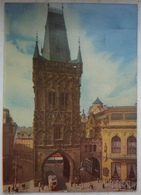 PRAHA / PRAG - Ceskoslovensko - Prasna Brana - Tram   Vg - Repubblica Ceca