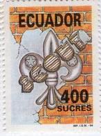Lote EC98, Ecuador, 1994, Sello, Stamp, Scout - Ecuador