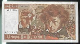Billet 10 Francs France Berlioz 6.7.1978 - Très Bon état - 1962-1997 ''Francs''