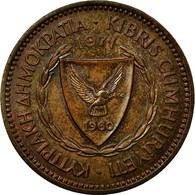 Monnaie, Chypre, 5 Mils, 1971, TTB, Bronze, KM:39 - Chypre