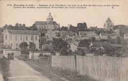 CPA - PROVINS - Panorama De La Ville Haute, Vue Prise De La Rue Des Prés, En Face L'ancien Couvent Des Jacobins - Provins