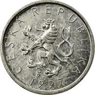 Monnaie, République Tchèque, 10 Haleru, 1997, TTB, Aluminium, KM:6 - Repubblica Ceca