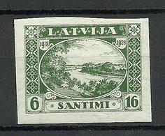 LETTLAND Latvia 1928 Michel 138 B * - Lettonie