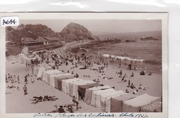 CHILE. VIÑA DEL MAR. PLAYA LAS SALINAS. CPA YEAR 1937 - BLEUP - Chile