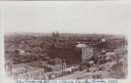 SANTIAGO DE CHILE DESDE SANTA LUCIA. CPA YEAR 1937 - BLEUP - Chile