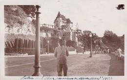 CHILE, VIÑA DEL MAR CAMINO A MIRA MAR. CPA YEAR 1937 - BLEUP - Chile