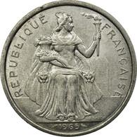 Monnaie, French Polynesia, 5 Francs, 1965, TTB, Aluminium, KM:4 - Polynésie Française