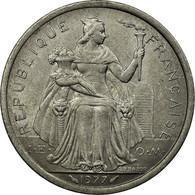 Monnaie, French Polynesia, 2 Francs, 1977, Paris, TTB, Aluminium, KM:10 - Frans-Polynesië