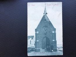 Heist-Heyst/-cpa Chapelle Notre-Dame-animée-1912 - Heist