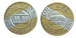 01015 GETTONE TOKEN JETON TRASPORTO TRANSIT PHILADELPHIA 1994 - Unclassified