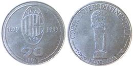 05051 GETTONE TOKEN JETON SPORT CALCIO FOOTBALL MILAN AC COPPA DEI CAMPIONI 1989 - Italy