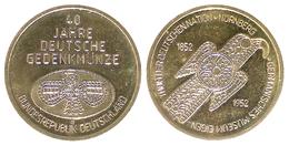 05430 GETTONE TOKEN JETON MUSEUM 40 JAHRE DEUTESCHE GEDENKMUNZE - Allemagne