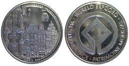 05434 GETTONE TOKEN JETON BELGIE WORLD HERITAGE PATRIMONIE 2005 - Unclassified