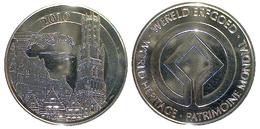 05435 GETTONE TOKEN JETON BELGIE WORLD HERITAGE PATRIMONIE 2010 - Unclassified