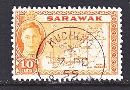 SARAWAK  195   (o)   MAP - Sarawak (...-1963)