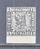 BERGEDORF  2  Reprint  *  No Gum - Bergedorf