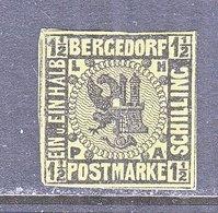 BERGEDORF  3  Original   *  No Gum - Bergedorf