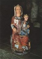 St Martin Du Canigou Abbaye Du XIe S. Aux Environs De Vernet Les Bains. Vierge Romane Polychrome - France