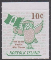 Norfolk Island ASC 769 2001 South Pacific Games Ex Booklet, Mint Never Hinged - Norfolk Island