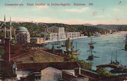 CONSTANTINOPLE , PALAIS IMPERIAL DE DOLMA BAGTCHE , BOSPHORE , No 338 , ED. J.M.F. , EN ETAT, T6D - Türkei