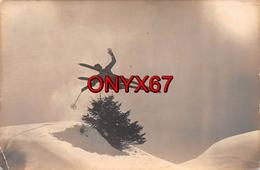 Carte Postale Photo D'Art GyGer ADELBODEN (Suisse-Berne) Sport Hiver-Ski-Skieur-Neige 2 SCANS - BE Berne