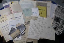 Lot De Documents De L'union Toulonnaise Familiale Années 50 - Théatre & Déguisements