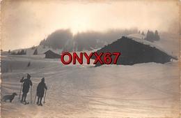 Carte Postale Photo D'Art Klopfenstein ADELBODEN (Suisse-Berne) Sport Hiver-Ski-Skieur-Neige 2 SCANS - BE Berne