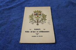 Nancy Guide Et Plan 1932 - Cartes Topographiques