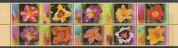 Norfolk Island ASC 815-824 2003 Day Lilies, Mint Never Hinged - Norfolk Island