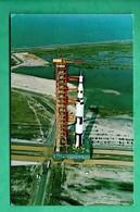 Spae Espace NASA Fusée Apollo Saturn V John Kennedy Space Center ( Format 9cm X 14cm ) - Espace